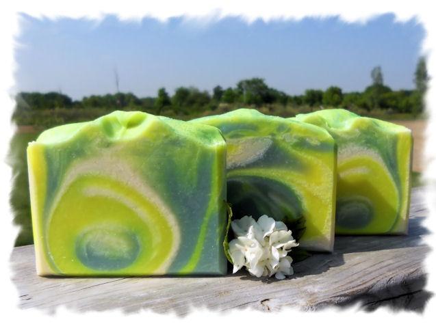 Mountain Dew (Type) Goat Milk Soap $6.00