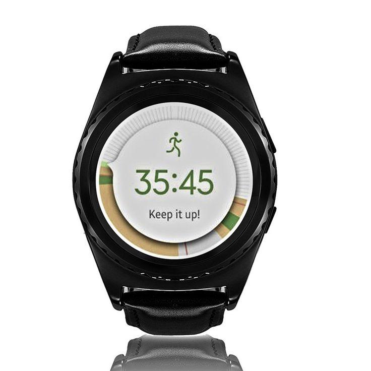 1 stück Android Smart Uhr Bluetooth Sim-karte MTK6261A Outdoor Sport Smart Uhren Frauen Männer Smartwatches 1,2 inch Bildschirm Smartwatch //Price: $US $43.67 & FREE Shipping //     #smartuhren