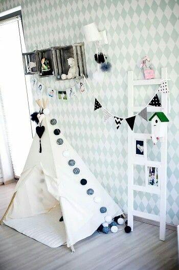 #cottonovelove #cottonballlights #interior #design #cottonballs #fairylights #cottonfairy #glow #świecącekulki #cottonfairylight #homedesign #homedecor #scandinaviandesign #scandidesign #minimalism #kidsroom #teepee #tipi