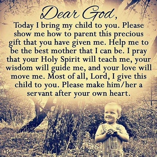 A Prayer for My Children - Inspirations