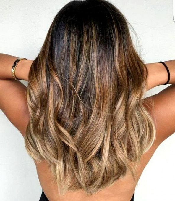 Les Plus Beaux Modeles De Balayage Ombre Reperes Sur Pinterest Brown Hair Balayage Balayage Hair Dark Brown Hair Balayage