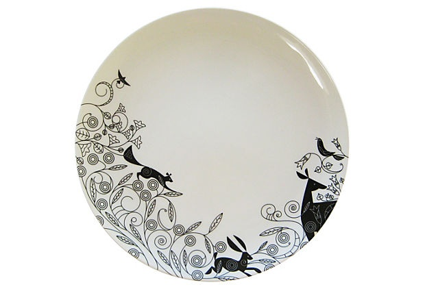 nature inspired plates by christopher jagmin
