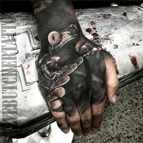 Excellent Hand Tattoos - Inked Magazine