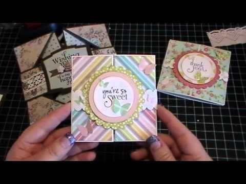 Folded Cards - YouTube