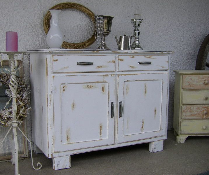 schrank champagne vintage shabby chic products and shabby. Black Bedroom Furniture Sets. Home Design Ideas