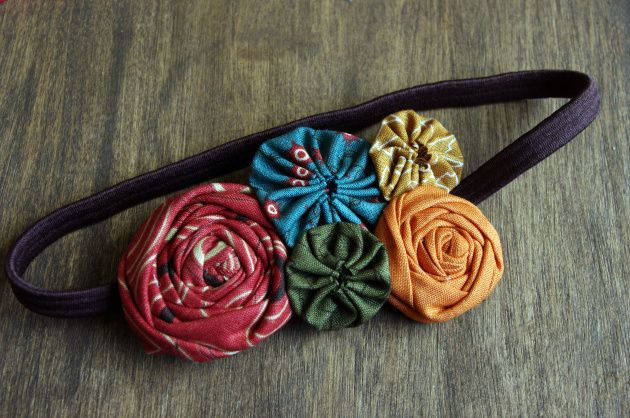 Fabric Flower Headband DIY | Fleur d'Elise