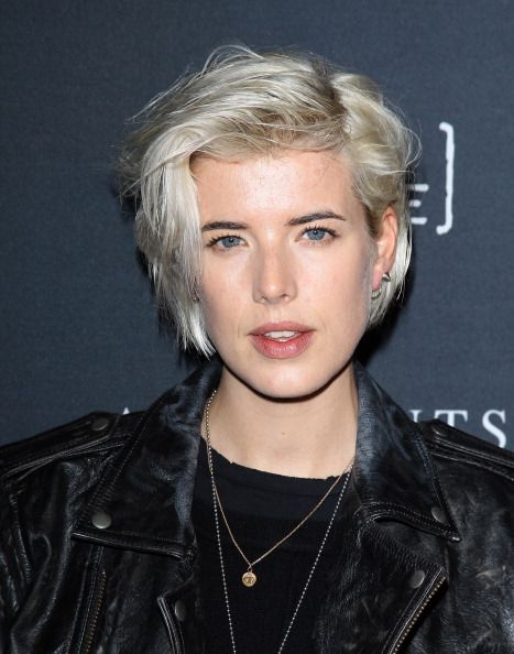 Model Manes: 10 Signature Catwalk Cuts: AGYNESS DEYN: She may be a proper married woman right now, but we always think of her with her platinum punk hair.