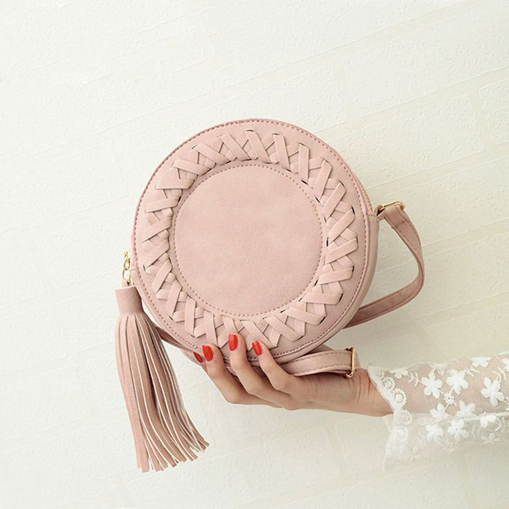 Round Weave Cross Body Bag //Price: $22.74 & FREE Shipping // #glamour #girl  #bagsdesigns