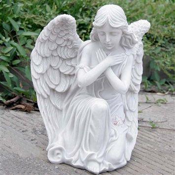 Angel figurine (coupon code 3offpin) #gardening #garden #ornaments