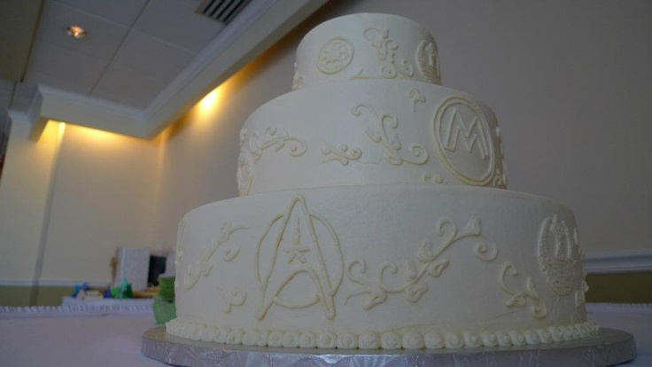 star trek themed wedding cake best 20 trek wedding ideas on trek 20499