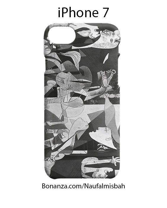 Paint Guernica Picasso iPhone 7 Case Cover Wrap Around