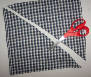 how to make a bandana scarf for to donate to a shelter
