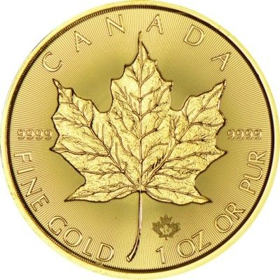 Maple Leaf 1 Unze Gold 2017