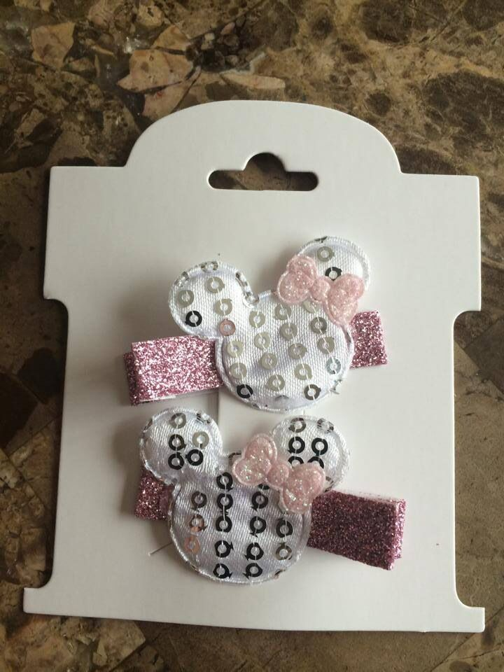 Cute little clips for the Minnie cutie in your life!