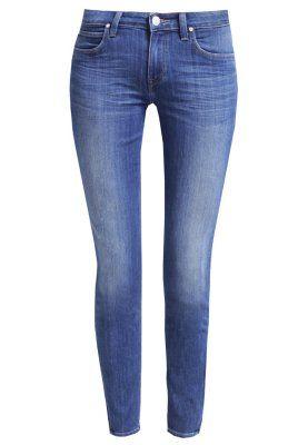 SCARLETT CROPPED - Jeansy Slim fit - indigo blue