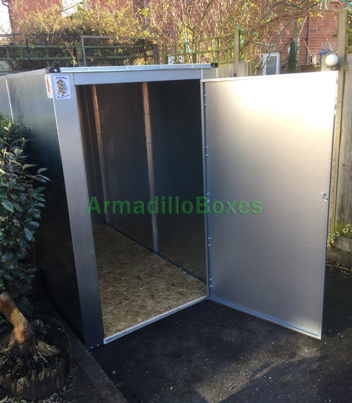 6ft Motorcycle storage shed large motorcycle security motorbike storage scooter shed | Armadillo Boxes