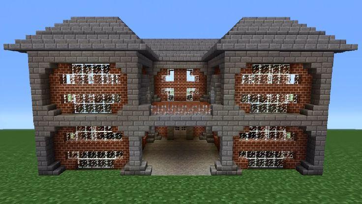 Minecraft Tutorial: Brick House - 2