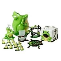 Frog Bathroom set