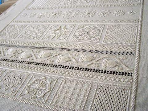 SJ Designs - 18th century sampler