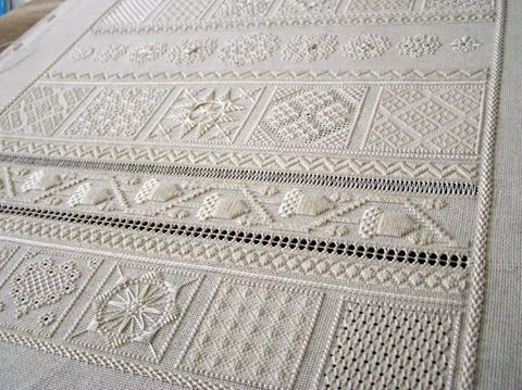 SJ Designs - 18th century sampler