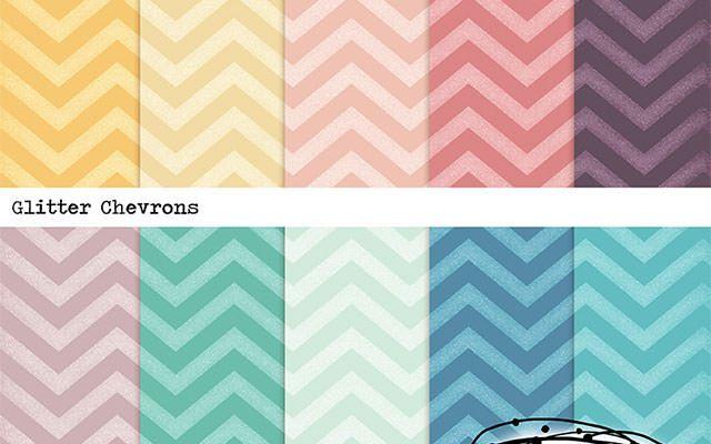 glitter-chevrons-pattern