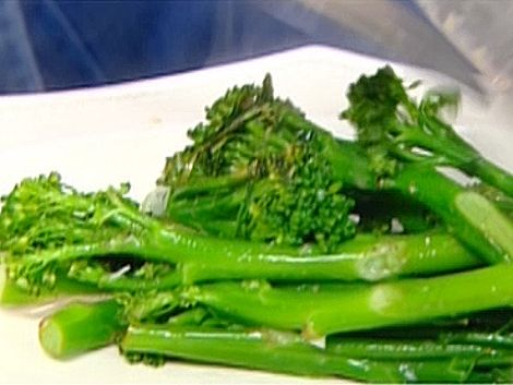 Sauteed Broccolini Recipe : Ina Garten : Need to slice the stalks a little thinner as they can be tough but very tasty. PERFECTO!