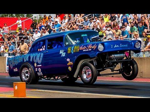 2015 Nostalgia Classic Ohio Outlaw AA/Gassers Tri-5 Chevy Funny Car Nostalgia Drag Racing Videos - YouTube
