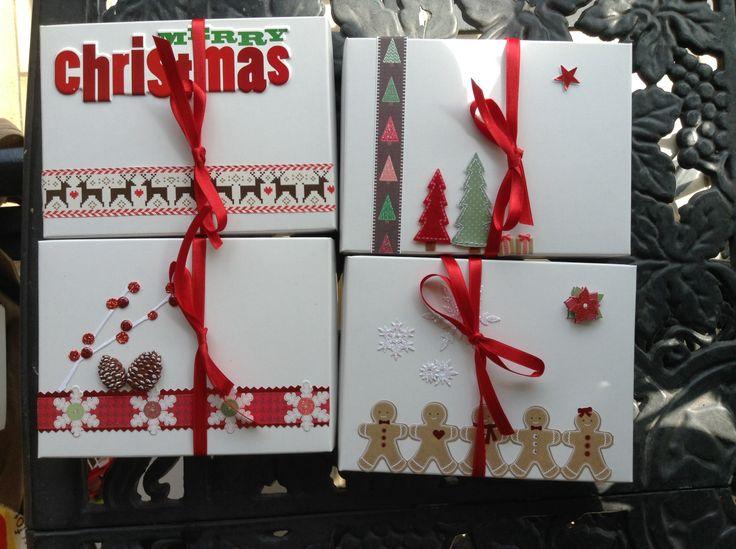 Otras ideas de cajitas de navidad