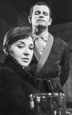 The HomecomingbyHarold Pinter  Vivien Merchant [Ruth] & Ian Holm [Lenny]