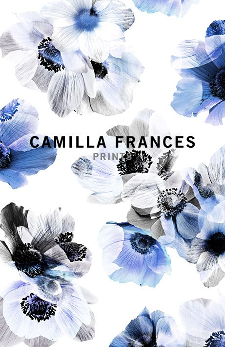Camilla Frances prints - estampa floral