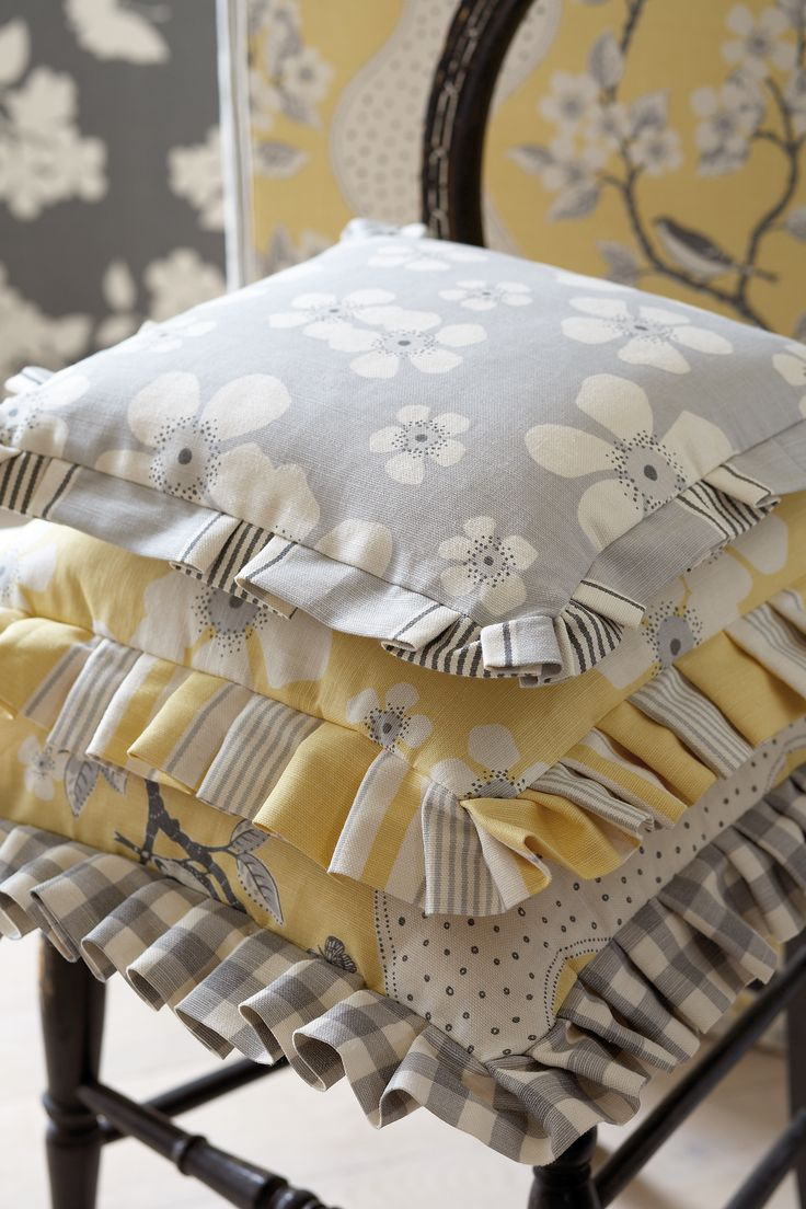 Frilled Cushions