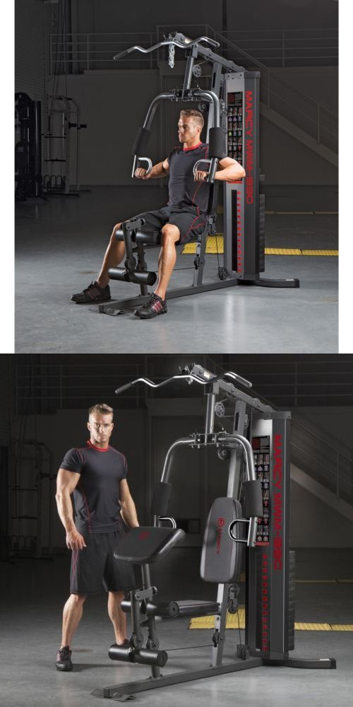 Home Gyms 158923: Home Gym Machine Marcy Stack Exercise Workout Fitness Equipment Weight Training -> BUY IT NOW ONLY: $425.99 on eBay!