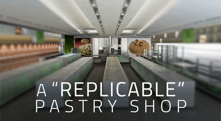 "We were in Riyadh, and what we had in front of us was a space of about 450 square meters to build a pastry shop. Not just a patisserie whatever, but a ""replicable"" patisserie."