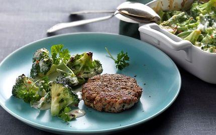 frysemad! Karbonader og ostegratineret broccoli