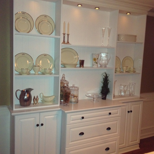 Our New Dining Room Built In Hutch