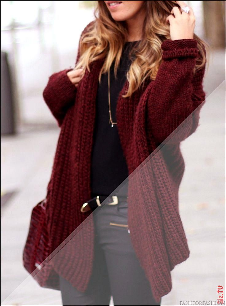 Essentials Damen Strickjacke Lightweight Open-Front Cardigan Sweater