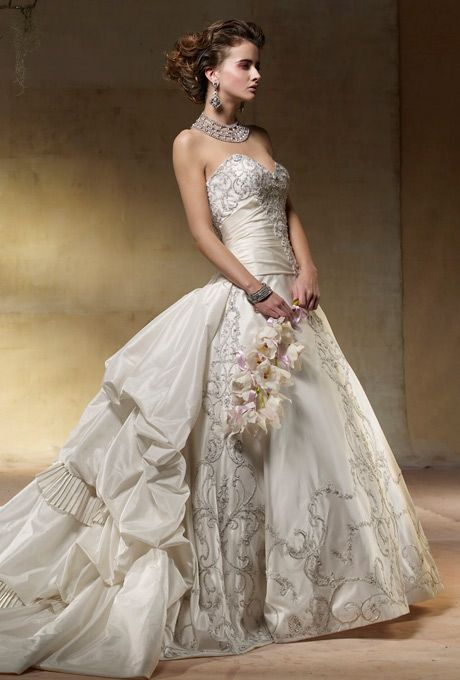 10 best abiti da sposa *-* images on Pinterest | Wedding frocks ...