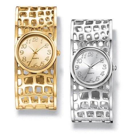 You will love this product from Avon: Cut It Out Metal Cuff Watch reg.  $34.99