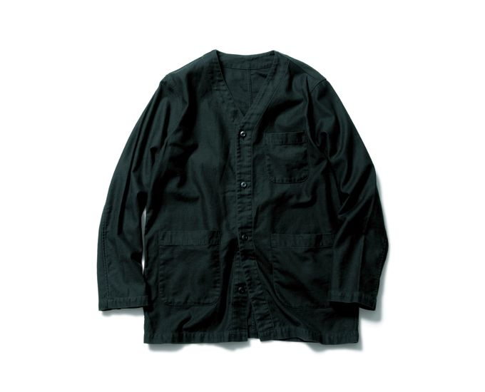 SOPHNET. | PRODUCT | NO COLLAR WORK JACKET