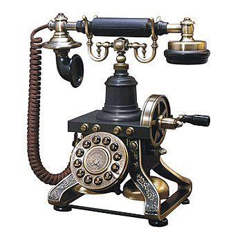 Eiffel Tower Nostalgic Vintage Style Telephone Yes Please