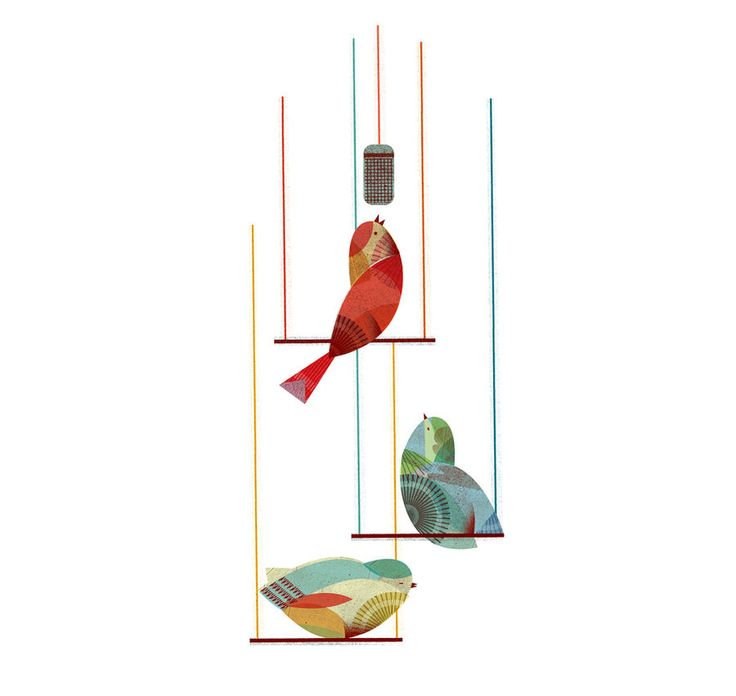 Birds / Lotta Nieminen: Birds Illustrations, Inspiration, Lottanieminen, Songs Birds, Lotta Nieminen, Art, Graphics Design, Illustrations Birds, Nieminen Illustration