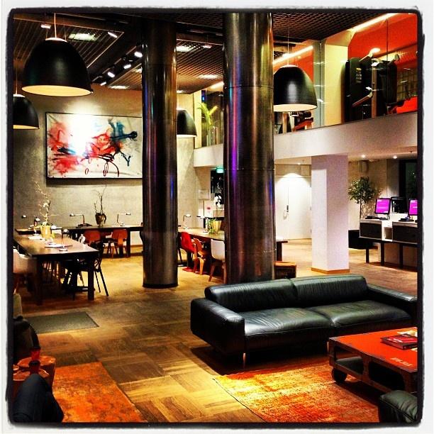@βʊđđąཞįơ - Reception #funky #hotel #oslo #norway