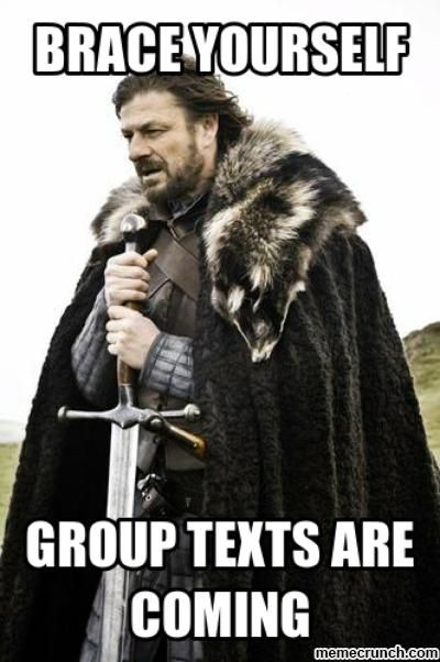 Group text