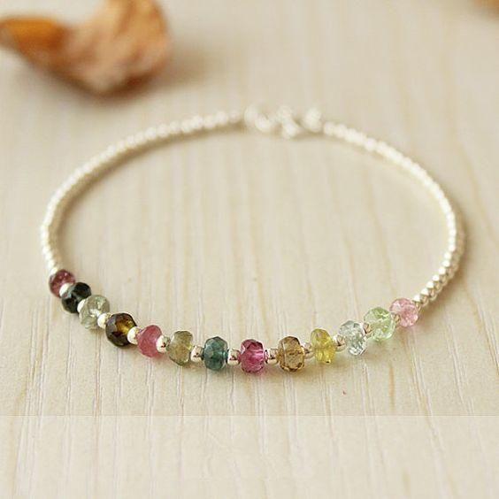 Fresh Colorful glass beads bracelets from Pandahall.com: