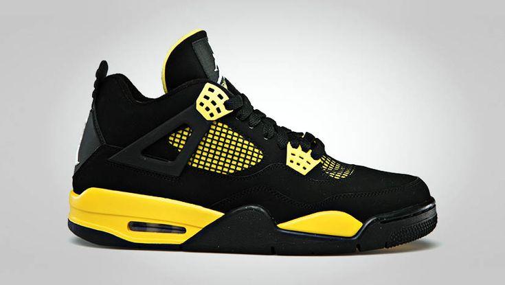 Jordan 4 black & Yellow