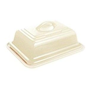 Le Creuset Stoneware Butter Dish, Almond: Amazon.co.uk: Kitchen & Home