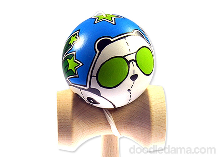 Pandama Doodle #Kendama #Customs