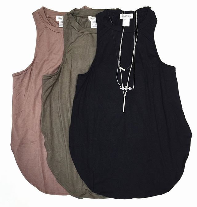 HT NEW ARRIVAL closet {must-have} // high neck scoop tank top $30 Dont miss out! Shop today in stores or Call to order, WE SHIP! 360.716.2982 #shophoitytoity