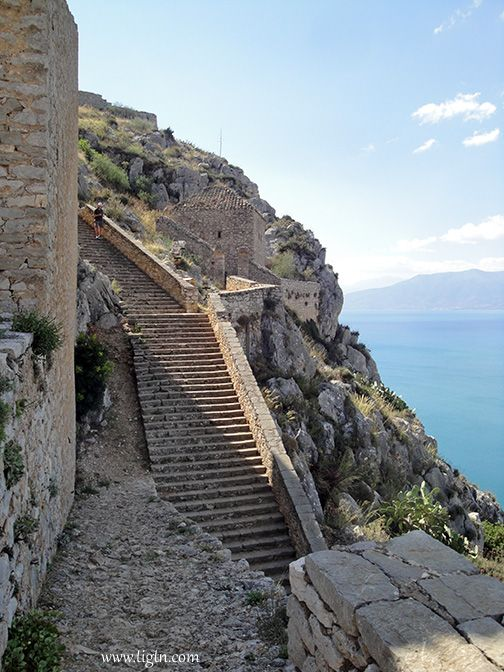 Are we there yet? #Palamidi Castle, #Nafplio - #Greece
