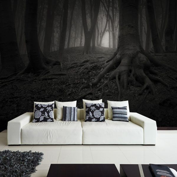 Wall MURAL Bewitched Forest Wall Paper, Self Adhesive Wall Covering, Peel  And Stick Repositionable Wallpaper Part 61